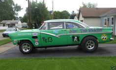 56 Ford Crown Vic Gasser