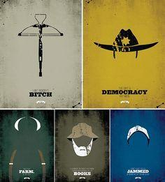 #TheWalkingDead Symbols