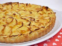 Delicious Desserts, Dessert Recipes, Sweet Pie, Sin Gluten, Flan, Apple Pie, Bakery, Food Porn, Food And Drink