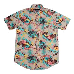 Back in stock : FLORAL | Colorful flower full print shirt | IDR 175.000 | XS & S