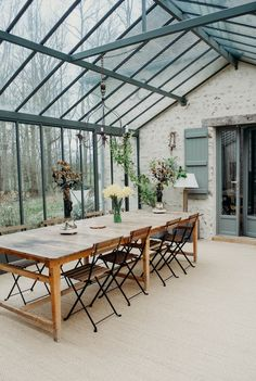 House Extension Design, House Design, Future House, My House, Outdoor Spaces, Outdoor Living, Conservatory Kitchen, Home Greenhouse, House Extensions