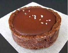 recette tartelette chocolat caramel sel