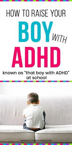 Do you have a boy with ADHD? How do you care for them and teach them? Do you homeschool a child with ADHD? Disruptive behaviors are part of your life as a mom to a child with ADHD. Learn how to raise that little boy with ADHD Gentle Parenting, Kids And Parenting, Parenting Hacks, Foster Parenting, Peaceful Parenting, Funny Parenting, Parenting Articles, Parenting Classes, Parenting Ideas