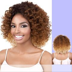 L. DITTO (Motown Tress) - Heat Resistant Fiber Lace Front Wig