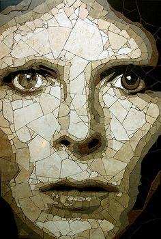Portraits de célébrités en céramique par Ed Chapman  Photo
