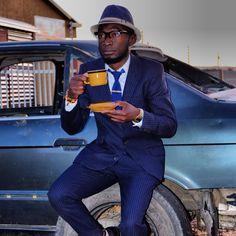 Blue suits - ❤ is African [loux the vintage guru]