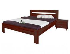 Dvoulůžková masivní postel Vitalia Dvoulůžková postel Vitalia slovenské výroby z masivního bukového dřeva o síle 30 mm. Dřevěná postel vyniká originálním designem, kvalitním zpracováním a jednoduchou montáží. Pevnost a stabilitu postele zajišťuje excentrické kování. Každou … Beds, Furniture, Design, Home Decor, Decoration Home, Room Decor, Home Furnishings, Bedding