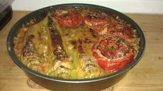 Stuffed vegetables aka gemista