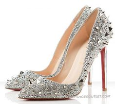 High Quality Christian Louboutin Galaxy Pigalili 120 Pumps Sliver | Christian Louboutin Daffodile Aurora Boreale 160mm Sale