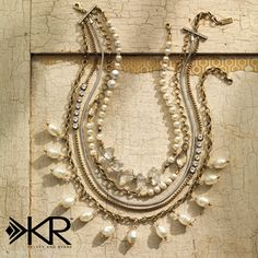 Bring out your inner beauty with the Practical Pearls Necklace from the K & R Collection. #BeBeautiful #Silpada