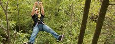 zip lining Refreshing Mountain Retreat & Adventure Center | Lancaster, Pa