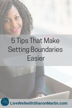 5 tips for setting boundaries easily. Don't feel guilty, selfish, or mean. Learn the skills for setting healthy personal boundaries. Sharon Martin, Mental Health Articles, Personal Boundaries, Personal Development Books, Setting Boundaries, Codependency, Emotional Abuse, Health Matters, Selfish