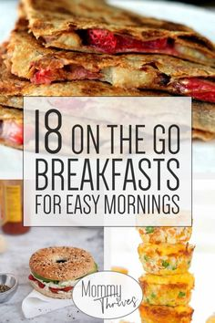 18 Quick Healthy Breakfast Recipes Easy Make Ahead Breakfast Recipes On The Go Breakfasts That Are Healthy 18 Healthy Breakfasts On The Go Source by twocametrue Healthy Breakfast On The Go, Healthy Breakfast Recipes, Healthy Drinks, Healthy Breakfasts, Breakfast To Go, Quick Breakfast Ideas, Healthy Dishes, Quick Healthy Snacks, Breakfast Cookies