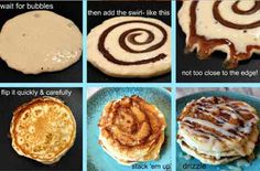 Grocery Eats - Cinnamon Roll Pancake Recipe – Pancakes are Never Out of Style