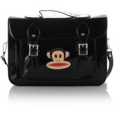 Paul Frank Patent Satchel Bag