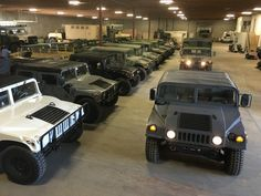 """Planbsupply.com is offering STREET LEGAL military grade Humvees that are near brand new, and low miles. These are NOT the """"off road only"""" units that are being sold to everyone. These are in incredible condition, and can be selected in many colors and options. Price: starting at $28,400. Shipping available nationwide."""