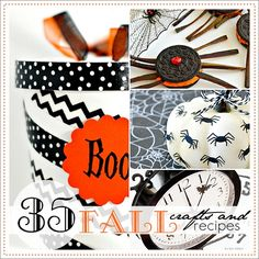 35 Fall fabulous Projects, Crafts and Recipes. Love them!