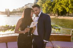 Propose on a private Seine River boat in Paris Best Places To Propose, Proposal Photographer, Romantic Proposal, Marriage Proposals, Parisian, Gentleman, Cruise, Take That, Boat