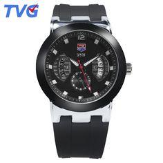 $24.98 (Buy here: https://alitems.com/g/1e8d114494ebda23ff8b16525dc3e8/?i=5&ulp=https%3A%2F%2Fwww.aliexpress.com%2Fitem%2FNew-2016-TVG-Brand-Analog-Quartz-Watch-Men-High-Quality-30M-Dive-Waterproof-Military-Watch-Japan%2F32658871730.html ) TVG Brand Fashion Male watches Ultra-Thin Quartz Watch Waterproof Black Silicone Strap Casual Men Wristwatches reloj skmei for just $24.98
