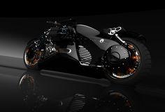 MM2 Tryton Electric Motorcyle by Row 0 - Simon Williamson , via Behance
