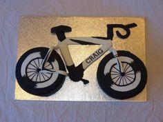 Bicycle men's birthday cake