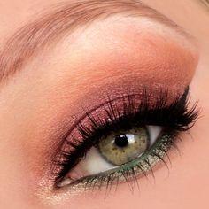 Fall makeup look. My IG: @makeupbyeline
