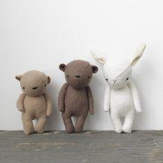 the dear ones bear by ohalbatross on Etsy