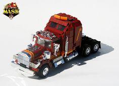 Lego M.A.S.K Rhino - I loved MASK when I was a kid.