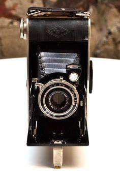 Vintage Bazaar  Agfa Folding Camera 1930s