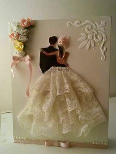 Ideas For Art Deco Wedding Card Invitation Ideas Tarjetas Diy, Wedding Crafts, Wedding Card Design, Cute Wedding I… Wedding Anniversary Cards, Wedding Invitation Cards, Invitation Ideas, Tarjetas Diy, Wedding Cards Handmade, Art Deco Wedding, Wedding Crafts, Diy Wedding, Wedding Ideas