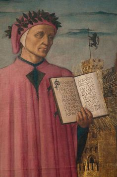 The artwork Dante reading from the 'Divine Comedy', detail of Dante Alighieri - Domenico di Michelino we deliver as art print on canvas, poster, plate or finest hand made paper. You define the size yourself. Renaissance Image, Italian Renaissance, Dante Alighieri, Great Thinkers, Gustave Dore, Gustav Klimt, I Icon, Canvas Prints, Art Prints