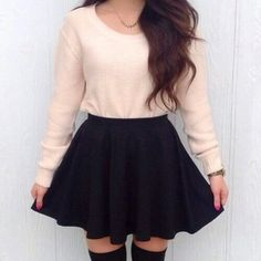 Outfit   skirt   girly