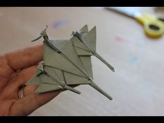 How to make an Origami fighter jet/plane