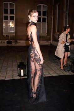 Celebs Get Glam and Mysterious At Vogue's PFW Masked Ball