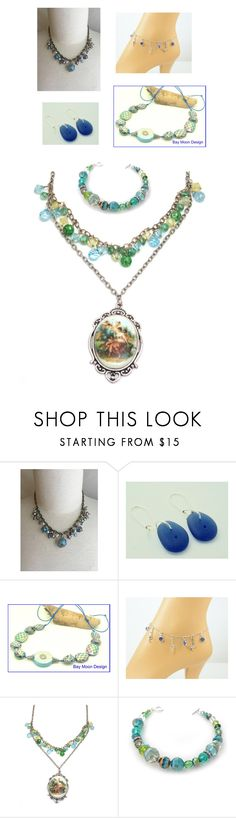 """Blue Jewels"" by brianna-anzalone on Polyvore featuring Treasuryteam"