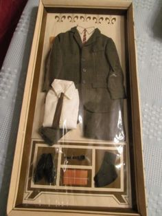 1963-Remco-Dr-Littlechap-doll-BUSINESS-SUIT-New-in-Package-NRFP