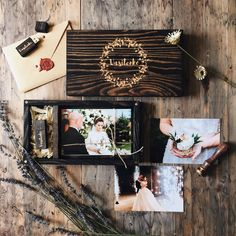 12 Marvelous Wedding Album Book For Pictures Wedding Album Nautical Wedding Album Books, Wooden Photo Box, Wedding Reception Table Decorations, Photo Boxes, Photo Packages, Wedding Photography Packages, Client Gifts, Photo Storage, Photography Packaging