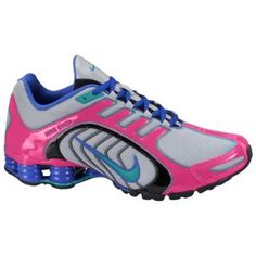 6d81fe61ff Nike Shox Navina SI - Women s - Wolf Grey Sport Turquoise Pink Force