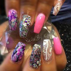 Day 244: Shades of Pink Nail Art - - NAILS Magazine