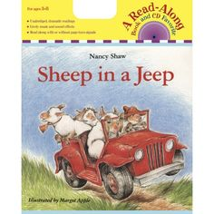 Carry Along Book & CD, Sheep in a Jeep, HOU9780618695225