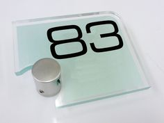 House Number Sign 83... Looking for something different!, the AX27 designer number sign