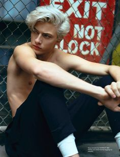 "l-homme-que-je-suis: ""Lucky Blue Smith Photographed by Chad + Paul and Styled by Claudia De Meis for Rollacoaster Magazine """