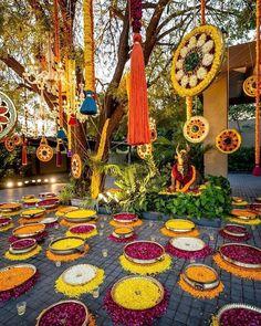 Desi Wedding Decor, Home Wedding Decorations, Marriage Decoration, Backdrop Decorations, Diwali Decorations, Flower Decorations, Reception Decorations, Diy Wedding, Wedding Reception