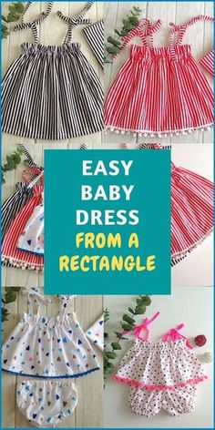 Baby Girl Dress Patterns, Baby Clothes Patterns, Dress Sewing Patterns, Clothing Patterns, Skirt Patterns, Coat Patterns, Blouse Patterns, Baby Dress Pattern Free, Free Baby Sewing Patterns