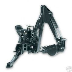 """New 12"""" Edge BH408 Skid Steer Bobcat Hydraulic Backhoe Attachment   BH408   $9,774.99 Skid Steer Attachments, Bobcat Skid Steer, Fire Wood, Compact Tractors, Trains, Give It To Me, Construction, Toys, Ideas"""