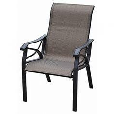 Hampton Bay Altamira Diamond Motion Patio Dining Chair 2