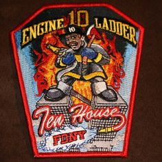 "Manhattan, New York #FDNY Engine 10, Ladder 10. ""Ten House"""