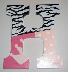 håndmalede bogstaver