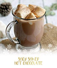 These nutella, vegan and spiked hot chocolate recipes aren't the hot cocoa your grandma used to make