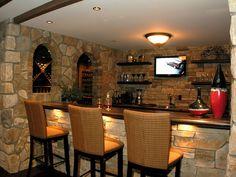 Bar/Wine Cellar!